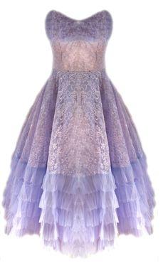 'Lola' lilac pastel purple 1950s tulle prom dress www.itsvintagedarling.com #ghdcandy #violet