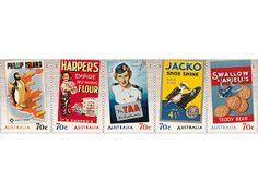 Set of stamps - Australia Post Shop (want)