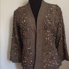 Chico's jacket Chico's embellished jacket Chico's Jackets & Coats