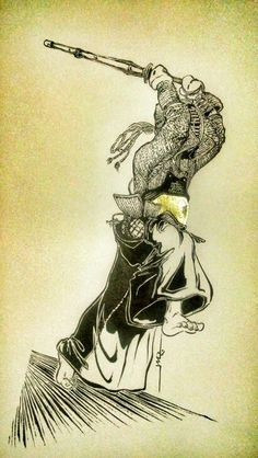 algo de #kendo con un dou dorado.