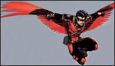 Tim Drake-Red Robin and 3rd Robin