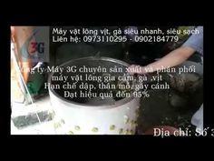 Máy vặt lông gà 3G Việt Nam - Siêu nhanh, siêu sạch chỉ trong 20 giây