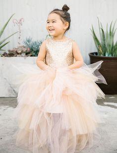 7bb92e10e90 Best Dinner Party Ever Meets Best Concert Ever  An Urban LA Wedding. Gold Flower  Girl DressesFlower GirlsRings For GirlsGreen Wedding ShoesChic ...