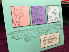 Birthday card #DIY  To buy similar hand crafted cards visit https://www.etsy.com/shop/AlesiasCrafts