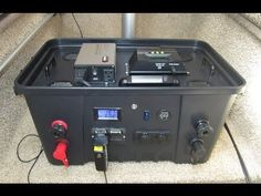 DIY Portable Solar Power Generator Part 1 - Wiring Schematic, Parts List, FAQ Sheet Provided This DIY 110 amp hour portable generator is designed to be powered by a solar panel and 2 AGM sealed batteries. The system includes a PWM solar. Generator Parts, Portable Generator, Solar Generator Diy, Battery Generator, Homemade Generator, Inverter Generator, Portable Solar Power, Solar Energy System, Solar Energy For Home