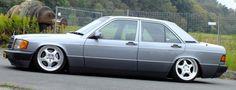 Flachmann: Mercedes-Benz 190E 2.6: Der totale Niedergang: 88er Mercedes-Benz W201 mit Airride - Auto der Woche - Mercedes-Fans - Das Magazin für Mercedes-Benz-Enthusiasten