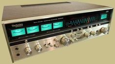 Technics SA-8000x quadraphonic receiver. This was the model I had in my system, purchased it in 1974 or so. It had a blistering 13 watts per channel (pretty good for back then!) and offered both CD-4 and SQ Matrix quad decoding. I liked it, and it lasted me a good 10 years or so.