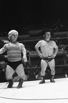 I remember watching these guys wrestle when I was a kid...sometimes in tag teams with their bigger counterparts...like Dick the Bruiser