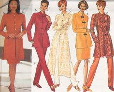 momspatterns vintage sewing patterns mccall 39 s 7414 retro 90 39 s sewing pattern glam asian. Black Bedroom Furniture Sets. Home Design Ideas