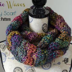 Mystic Waves Infinity Scarf by The Stitchin' Mommy