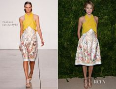 Cody Horn In Thakoon – 2012 CFDA/Vogue Fashion Fund Awards