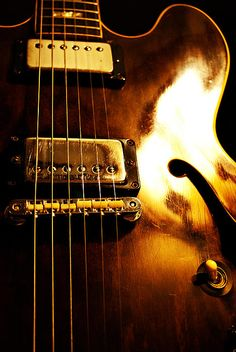 Old Faithful  Photo of a 1968 Gibson ES335 by Christopher Gaston of CMG Design Studios
