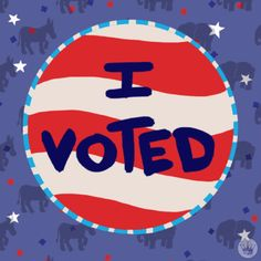 New party member! Tags: trump election clinton election 2016 vote artists voting ecards democracy denyse mitterhofer hallmark i voted hallmark ecards