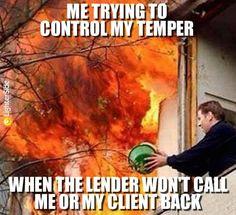 Lender Wont Call Back