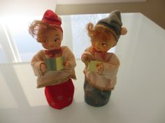 Vintage 1960s Christmas Angels by MemphisNanney on Etsy
