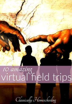 There are times we simply can't leave our homes. It's frustrating. However there's no reason we still can't go on field trips within the comfort of our own home. Check out these ten amazing field trips with your kids.