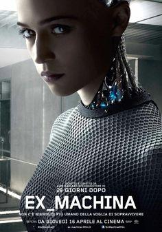 Ex Machina: in esclusiva il poster italiano ufficiale del film di Alex Garland