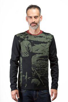 Taille P, M, G, TG, 100% laine Mérinos provenant d'Italie, tricot jacquard, fabriqué à Montréal, design québécois, disponible en 3 couleurs Boutique en ligne: www.breedknitting.com #knits #menswear #fw201314