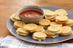 Bouchées au mozzarella cuites au four recette : les enfants vont aimé