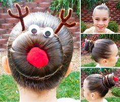 Rudolph, hairstyle, Xmas