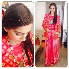 namratasoni's photo on Instagram sonam kapoor promotion clothes