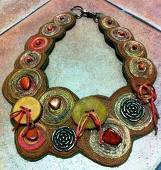 Originálny náhrdelník ....prírodný