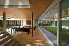 Enclosed Open House in Singapore by Wallflower Architecture + Design - Design Milk
