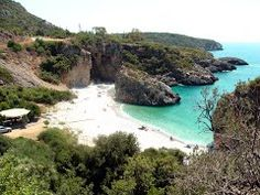 Foneas beach in Messinia, Peloponese Big Island, Mountain View, Places To Go, Beautiful Places, In This Moment, World, Beach, Water, Travel