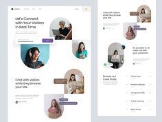 Weekly Design Inspiration #289 - Muzli - Design Inspiration Web Design, Logo Design, Website Slider, Dream Guide, Do Video, Ui Web, Landing Page Design, Portfolio Website, Company Profile