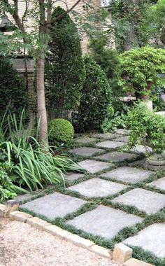Side Garden, Garden Pool, Garden Paths, Garden Art, Garden Design, Modern Backyard, Backyard Landscaping, Farm Gardens, Outdoor Gardens