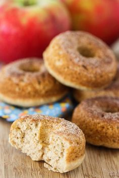 baked apple cider donuts - eat, live, run