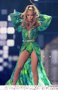 Jennifer Lopez's Most Amazing Vegas-Worthy Stage Outfits