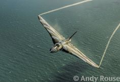 Photographer Andy Rouse had the best seat in the house when he was lucky enough to photograph the iconic Avro Vulcan bomber flying over Beachy Head East Sussex Air Force Aircraft, Fighter Aircraft, Fighter Jets, Military Jets, Military Aircraft, Aircraft Structure, Vickers Valiant, V Force, War Jet