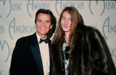 """Dick Clark with Axl Rose, from the upcoming HarperCollins book """"Louder Than Hell: The Uncensored, Unflinching Saga of Forty Years of Metal Mayhem."""" -- Photo by Nick Charles"""