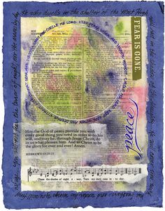 Neat link to Visual Blessings: Art Journaling & Visual Prayer for God and with Others