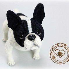 5461e0de072 14 Best Boston Terrier Crochet images