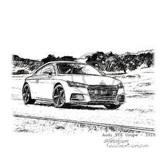 Audi R8 LMS - WRT Pencildrawing by www.autozeichnungen.net | Pinterest