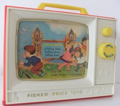 I had one of these fisher price TV's as a kid, absolutely loved it!