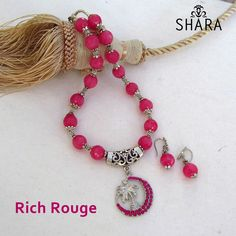 Rich Rouge Necklace