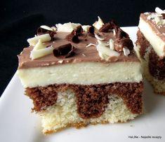 Hrnkový koláč s tvarohovým krémem