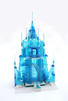 Pin for Later: Awesome Dad Is Bringing Frozen Fans' Lego Fantasies to Life