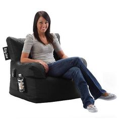 Comfort Research Big Joe Dorm Chair SmartMax Bean Bag - 1 ea.