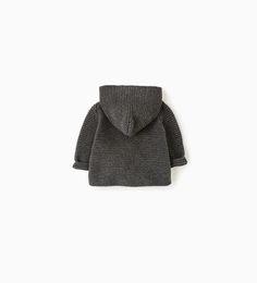 ZARA - KIDS - Hooded cardigan