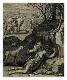 La envidia causa infinitos males- Teatro moral de la vida humana1612- Otto Vaenius
