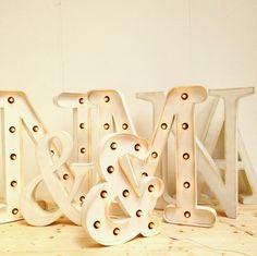 letras luminosas para bodas la factoria plastica
