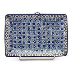 Tray 8.5'' (21.5 cm) pattern no. 228 | Slavica Polish Pottery, USD 30.49