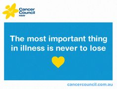 #hope #inspire #quote #cancer #celebrity #famous #cancercouncil