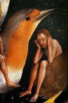 Bosch, The Garden of Earthly Delights, Detail