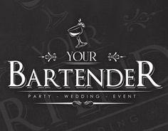 "Logotype for ""Your bartender"" brand,Athens Greecewww. Cocktail Drinks, Cocktails, Blue Magic, Logo Design Contest, Bartender, Restaurant Bar, Wedding Events, Behance, Business Ideas"