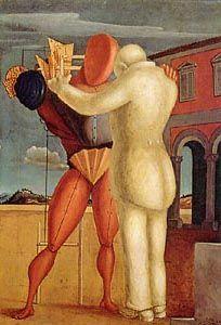 The Prodigal Son, 1922 // painting by Giorgio de Chirico